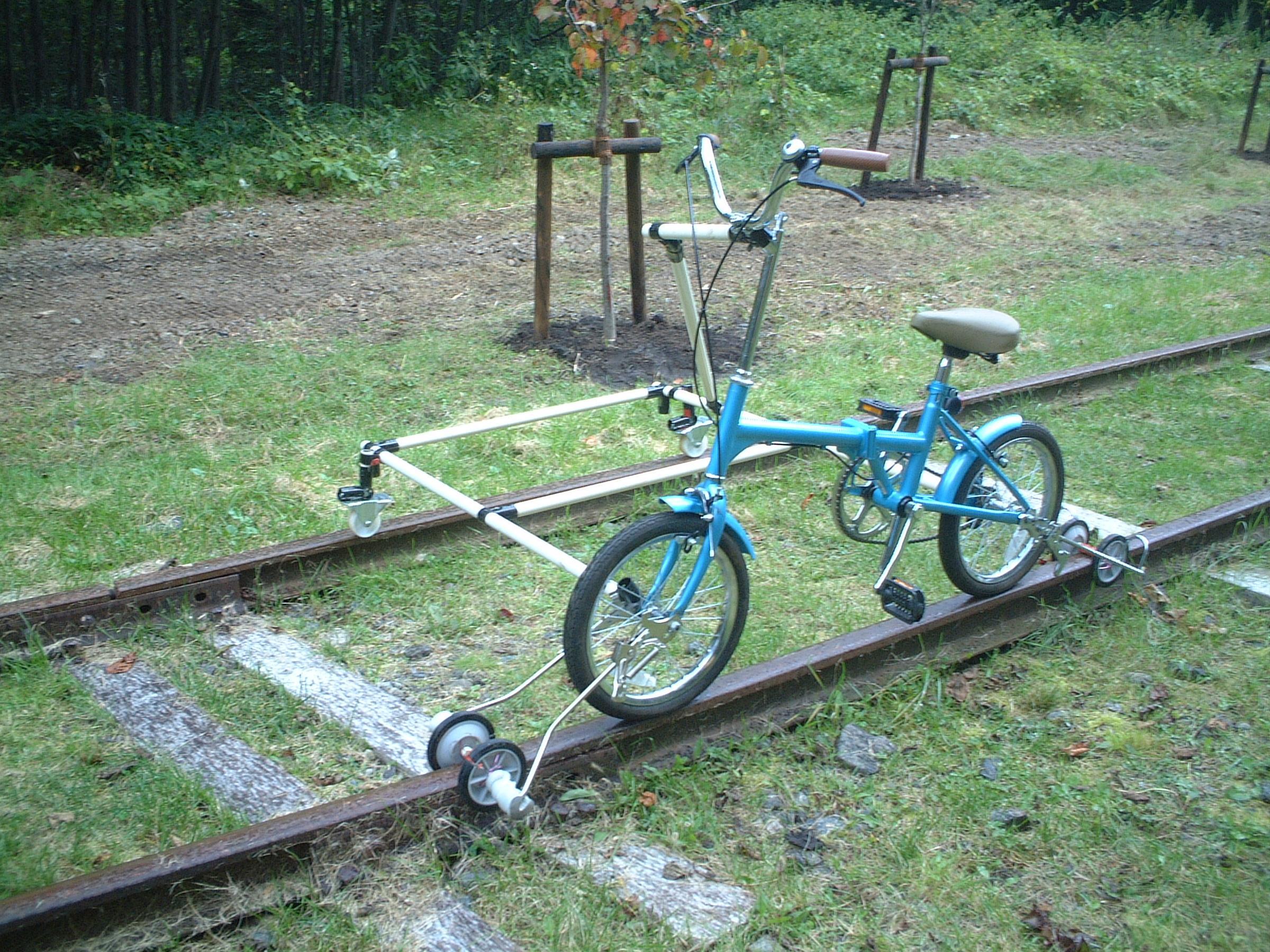 レールバイクで廃線めぐりの旅
