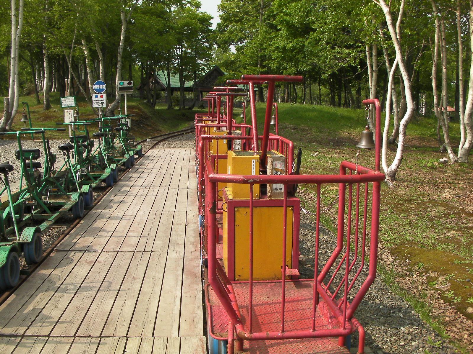 自転車の 神岡 自転車 線路 : レールバイクで廃線めぐりの旅