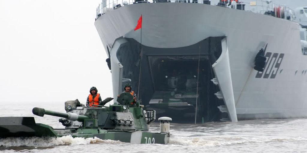 072-III型戦車揚陸艦(ユティンI...